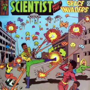 Copertina dell'album di Scientist, Giamaica 1982