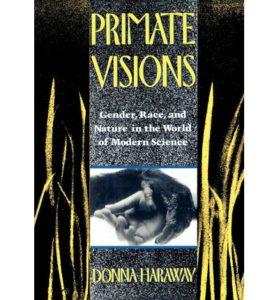 La copertina di Primate Visions con l'immagine del manifesto per i documentari su Jane Goodall.